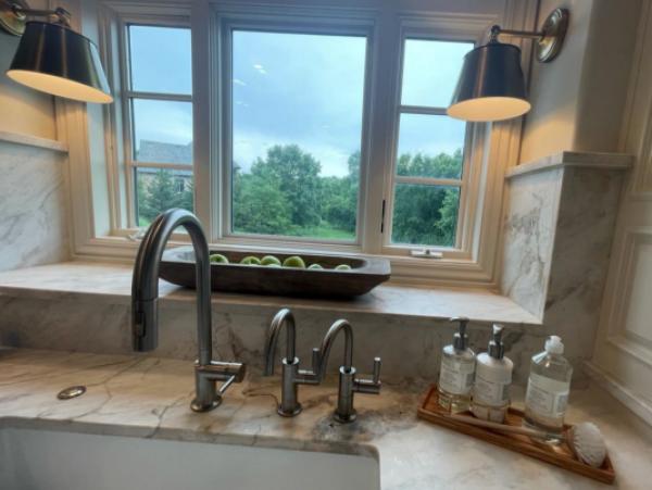 Kitchen Sink Marble